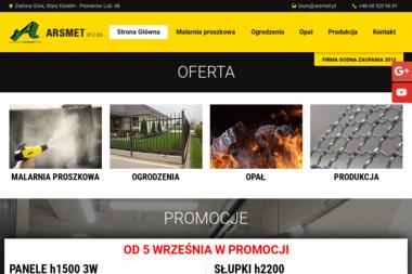 Arsmet Sp. z o.o. - Ogrodzenia panelowe Zielona Góra