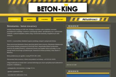 P.H.U. BETON-KING - Wiercenie Studni Głębinowej Kielce
