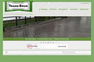 P.W. TransBruk Tomasz Nowicki - Nadzór budowlany Ostrzeszów