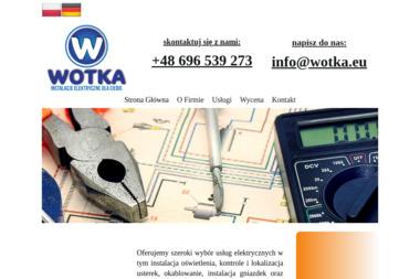 WOtKA - Projektant instalacji elektrycznych Tarnów Opolski