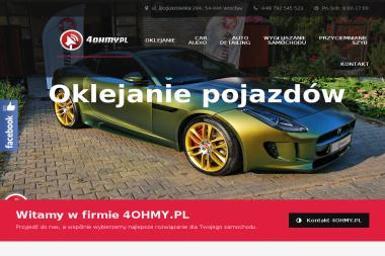 4Ohmy - Car Audio Wrocław