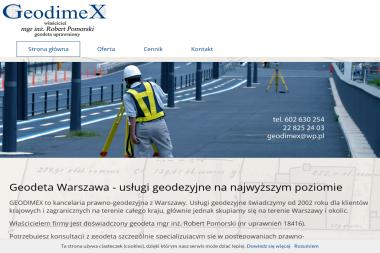 GEODIMEX Robert Pomorski - Geodeta Zielonka