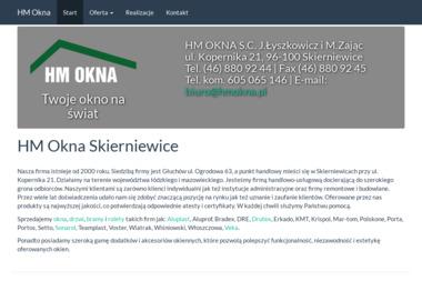 HM OKNA s.c. Jarosław Łyszkowicz i Marek Zając - Drzwi Skierniewice