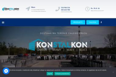KONSTALKON - Bramy Ogrodzeniowe Dwuskrzydłowe Skarżysko-Kamienna