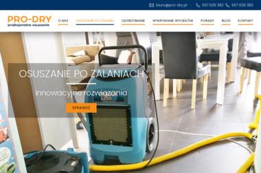 Pro-Dry - Osuszanie Gdańsk