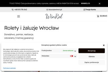 WinRol Rolety i Żaluzje - Okna Wrocław