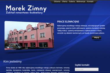 Z.R.B Marek Zimny - Naprawa okien Łowicz