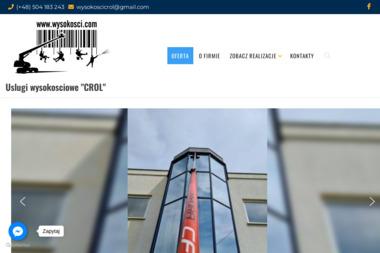 Usługi wysokościowe Crol - Odśnieżanie dróg i placów Wrocław