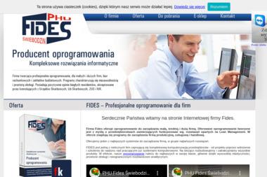 PHU Fides sp. z o.o. - Programista Świebodzin