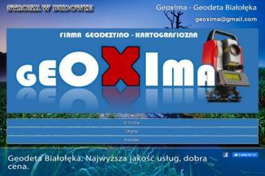 Geoxima - Firma Geodezyjna Warszawa