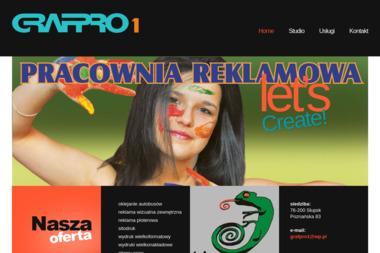 Pracownia Reklamowa GRAFPRO I - Naklejki Słupsk