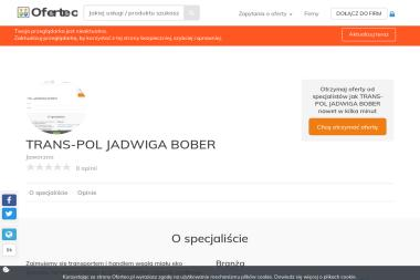 TRANS-POL JADWIGA BOBER - Ekogroszek Jaworzno