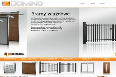 Domino bramy Lesław Kuźmiński - Sprzedaż Bram Garażowych Mirków