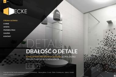 ECKE Studio Projektowania Wnętrz i Architektury - Projektowanie wnętrz Szczecin