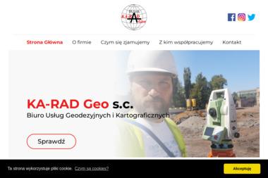 Biuro Usług Geodezyjnych i Kartograficznych KA-RAD Geo s.c. Krzysztof Chrustowski, Radosław - Geodeta Łódź