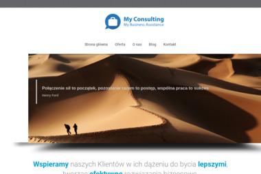 My Consulting Michał Kordas - Firma konsultingowa Wrocław