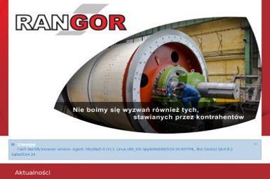 RANGOR - Zaopatrzenie w gaz Olsztyn