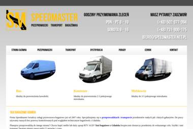 SpeedMaster - Przeprowadzki międzynarodowe Gdańsk