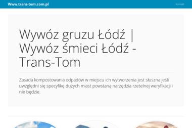 Trans Tom - Odśnieżanie dróg i placów Łódź