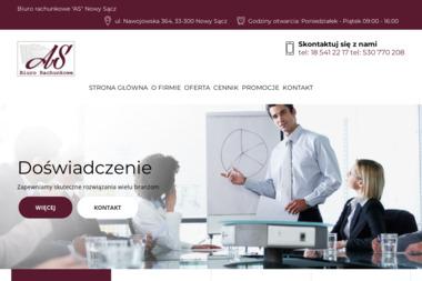Biuro Rachunkowe AS mgr.Aneta Stanik - Sprawozdania Finansowe Nowy Sącz