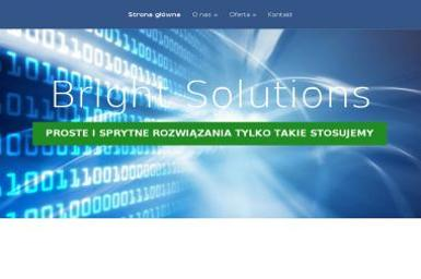 Bright Solutions - Programista Wesoła