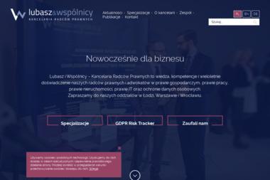 Kancelaria Prawna Lubasz i Wspólnicy - Adwokat Prawa Karnego Łódź