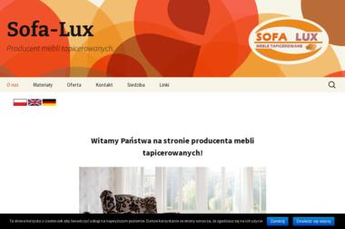 Sofa-lux zybała grzegorz - Drewno kominkowe Przygodzice