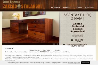Zakład Stolarski Leszek Szymański - Kuchnie Na Wymiar Toruń
