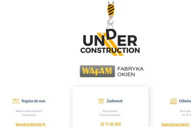 """FABRYKA OKIEN """"WAFAM"""" - Dostawcy i producenci 艢wi臋toch艂owice"""