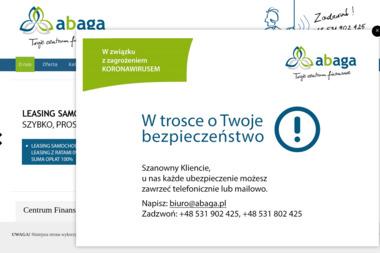 Abaga Twoje Centrum Finansowe - Leasing Operacyjny Gdynia