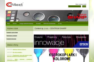 Context sp. z o.o. - Kserokopiarki A4 nowe Toruń
