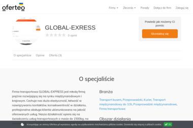 GLOBAL-EXRESS - Przeprowadzki międzynarodowe Siedlce