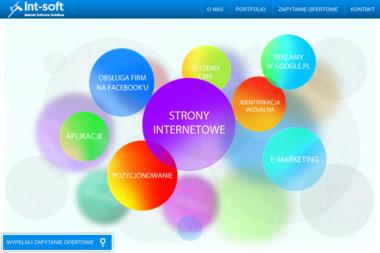 INT-Soft - Strony internetowe Jasło