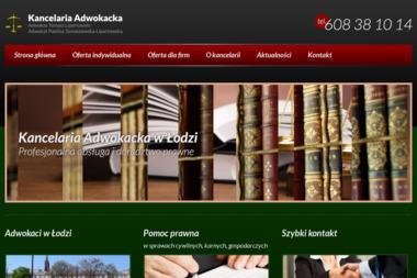 Kancelaria Adwokacka Adwokat Tomasz Lipartowski - Adwokaci Od Rozwodu Łódź