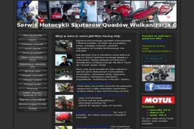 Moto Racing Help Maciej Tankiewicz - Motocykle Warszawa