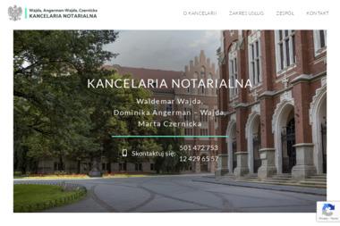 Kancelaria Notarialna Dominika Angerman-Wajda, Waldemar Wajda S.C. - Notariusz Kraków