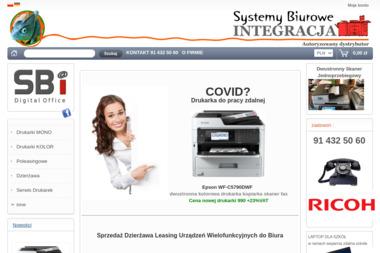 Systemy Biurowe-Integracja - Kserokopiarki Szczecin