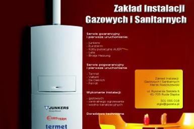 Zakład Instalacji Gazowych i Sanitarnych Marek Radziszewski - Klimatyzacja Ruda Śląska