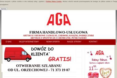 """AGA"" - Opakowania Wrocław"