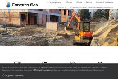 Concern gas - Monter Instalacji Sanitarnych Ostrówek