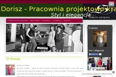Dorisz Pracownia projektowo-krawiecka Dorota Szczęsna - Adwokat Ostrołęka