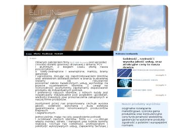 ELIT LINE - Producent Okien Aluminiowych Dobra