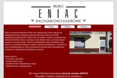 Biuro rachunkowo kadrowe ENIAC - Firma audytorska Elbląg
