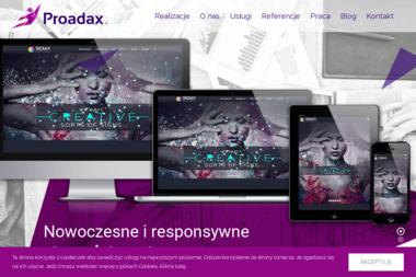 Proadax Agencja Interaktywna Adam Czop - Firma IT Zator