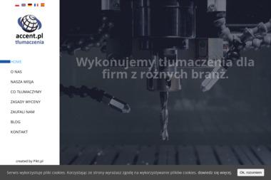 Accent Ent. Tłumaczenia - Tłumacze Warszawa