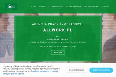 """Agencja Pracy """"AllWork"""" s.c. M. Pełka, T.Wodarz - Firma audytorska Strzelce Opolskie"""