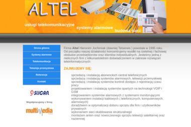 ALTEL Hieronim Jochimiak - Call Center Kalisz
