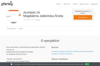 Architekt 24 Magdalena Jab艂o艅ska-艢roda - Firma remontowa Krosno