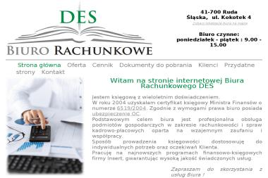 Biuro Rachunkowe DES - Biuro rachunkowe Ruda Śląska