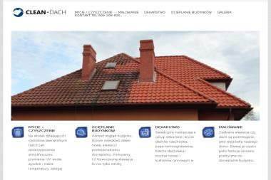 Clean-dach - Wymiana dachu Gdańsk